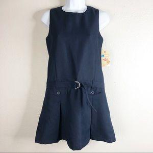 ☀️Dockers Kid's Navy School Belted Jumper Short